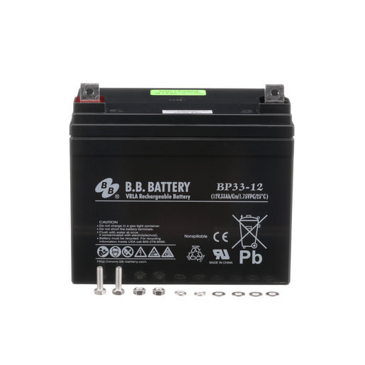 Battery, Lead Acid, Vr, 12V, 33Ah