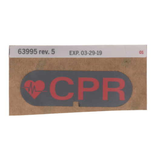 CPR Label