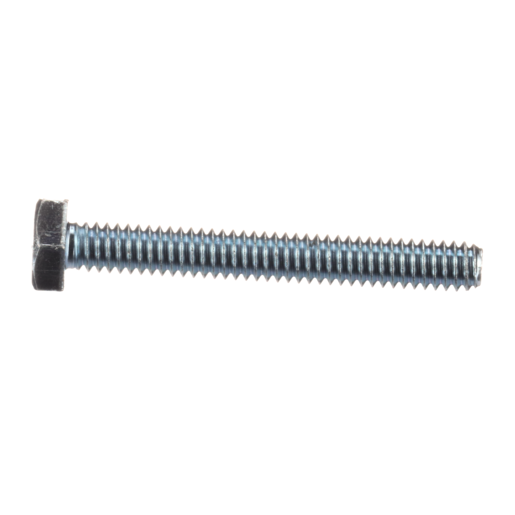 Screw, Cap, Hex, 1/4-20, 2, Zn, Thrd