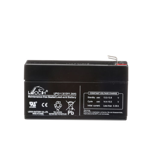 12V, 1.3 Amp Hour Battery