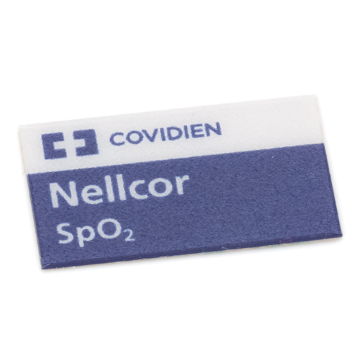 Label, SpO2 Input, Panel Surveyor, OEM Nellcor